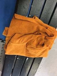 women's orange leather jacket Dartmouth, B2W