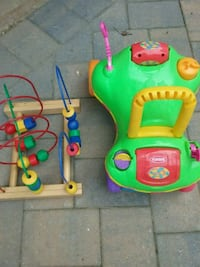 Playschool Ride-on, Counting toy