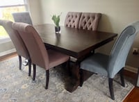 Gorgeous dining room table and chairs!! Yours for the taking at a FRACTION of the price!!  Rockville, 20850
