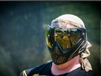 Helix Paintball Mask and Tactical Vest  North York, M3K 2C1