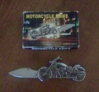 Motorcycle knife