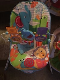 Baby's white, blue, green and orange fisher-price bouncer Concord, 94520