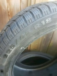 Champiro snow tires, 225/45/r18. Have all 4 and have 90% tread left