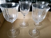 Set of 4 Crystal Wine Glasses Mississauga, L4X 1X7
