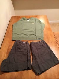 Men's clothing (Patagonia and Carhartt)