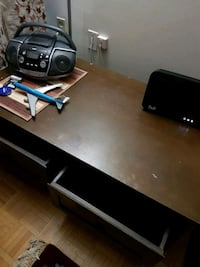 Rectangular center table with drawers solid wood. Mississauga, L5A 2G6