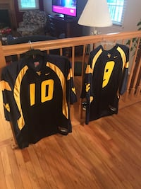 2 WVU FOOTBALL JERSEYS (Size L)- NEVER WORN Sykesville, 21784
