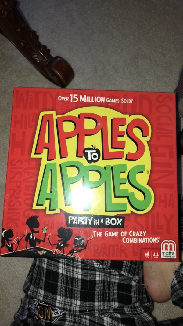 Brand New Apples to Apples Board Game