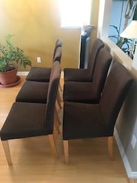 black leather sofa chair with ottoman Surrey, V3S