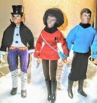 Action figures 1973 authentic MEGO Spokane