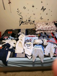 Baby lot.0-3 months.few items for 6 months  Toronto, M2M 3Z2