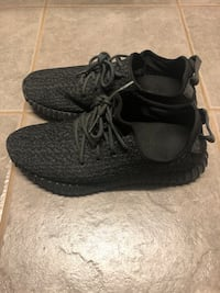 Adidas Yeezy Boost 350 Pirate Black Size 10    Vaughan