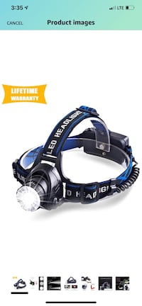 Headlamp New