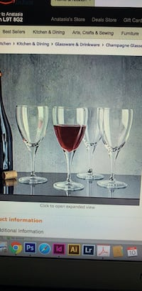 Wine Goblet Glasses set of 4 Mississauga, L5R 3G5