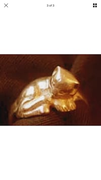 PayPal or etransfer only 24k gold plated cat ring pick your size  Vaughan, L6A