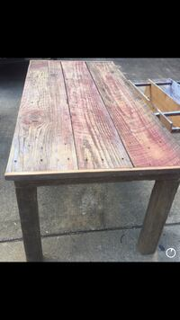 Barn wood table. This is the REAL DEAL original red finish and I pull wood from the barn myself. Sylacauga, 35151