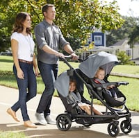 NEW- Graco Travel System- single stroller, double stroller and car seat CHEVYCHASE