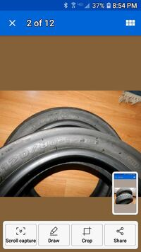Maxxis Motorcycle Tires 130/70 -12 size 120/80 -12 Picayune, 39466