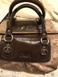 Brown Leather Coach Purse  Valrico, 33594