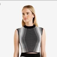 NEW Ted Baker striped ribbed top size 4  Toronto, M6N 4V7