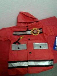 Jr fireman jacket size 12 mo Stockton, 95206