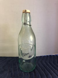 """Vintage 12"""" Absolutely Pure Milk Glass Bottle Made in Italy Manassas, 20112"""