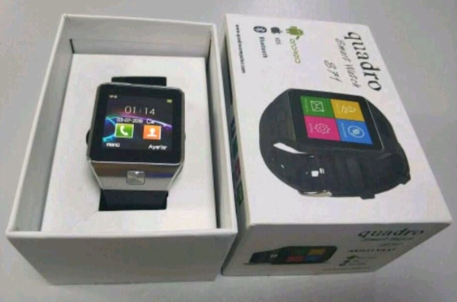 Quadro Smart Watch S71 - akıllı saat 25d2ddc7-d0e4-4c63-b02e-db1693dd76e7