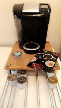 Moving sale!! Fairly NEW Keurig Vue & k cup tray holder Fair Oaks, 95662