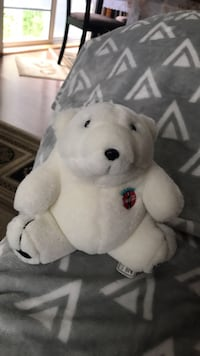 Plush polar coca-cola bear limited edition  Webster, 14580
