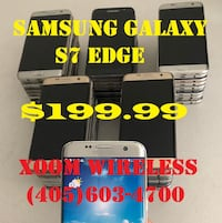 Samsung Galaxy S7 Edge (GSM Unlocked) on sale for $199.99 and it is ri