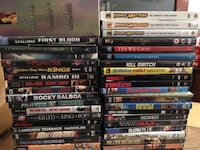 Various DVD movies $30 for all it a buck a pcs Mississauga, L4Y 2A6