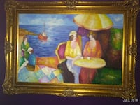 Original oil painting with great frame Toronto