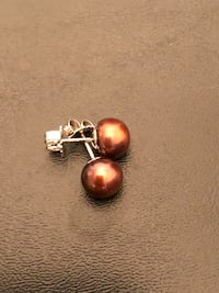 Sterling Silver Freshwater Pearl Earrings Arlington, 22204