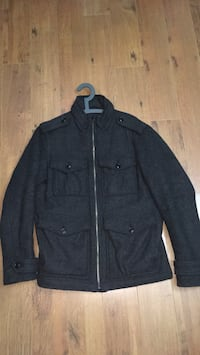 Men's Warm Winter Zip-Up Jacket (Gap) - Size S