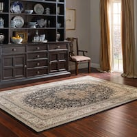 """Thomasville Timeless Classic Rug Collection black 8'8"""" x 13'"""