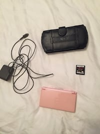 Nintendo DS pink with case, charger and hunting game $50.00 London, N6J 1J3
