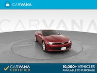 2015 Chevy Chevrolet Camaro coupe LT Coupe 2D Red Brentwood