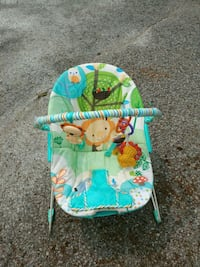 baby's blue and green bouncer Bradford West Gwillimbury, L3Z 2A5