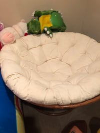 white and green moon chair Addison, 60101