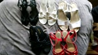 women's assorted pairs of shoes Berlin Center, 44401