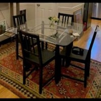 Table + 4 chairs, great condition! Washington, 20001