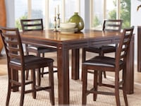 DINING TABLE 4 CHAIRS COUNTER HEIGHT WITH LIGHT FIXTURE Port Saint Lucie, 34987