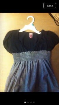 Junior small mini dress