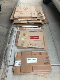 Boxes for moving - used Scottsdale, 85260