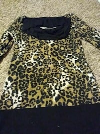 leopard print long-sleeved top Oroville, 95965