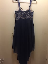 Women's formal blue & nude dress Las Vegas, 89131