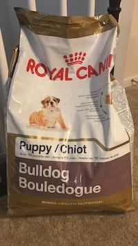 Royal Canin bulldog food Chantilly, 20152