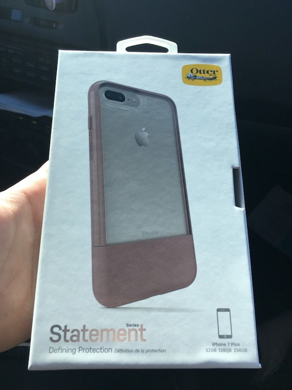 hot sale online f31f7 61583 Otterbox statement series clear/mauve iphone 7 plus phone case