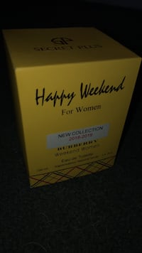 Burberry Perfume Happy Weekend for woman Aquebogue