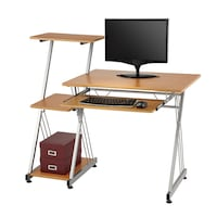 Brenton Studio® Limble Computer Desk, Birch